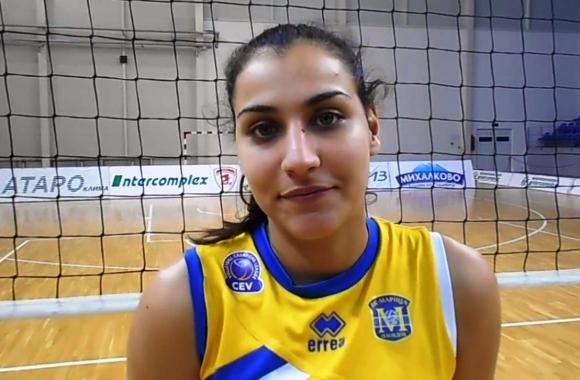Симона Димитрова попадна в разширения състав на женския национален отбор по волейбол