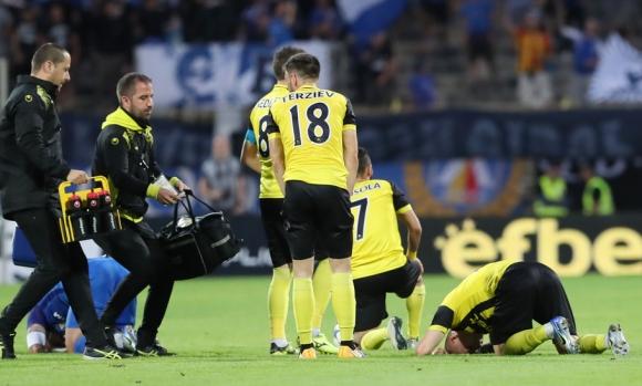 Футболист на Ботев направи ПТП преди мача с Левски