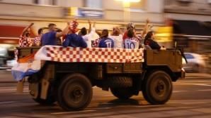 Полицията в Щутгарт задържа 55 хърватски запалянкоци
