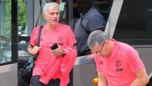 Манчестър Юнайтед замина за САЩ без звездите от Мондиал 2018
