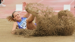 Милена Миткова продължи отличния ден за българската лека атлетика