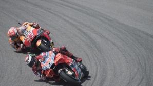 Маркес очаквал повече от Ducati в Германия