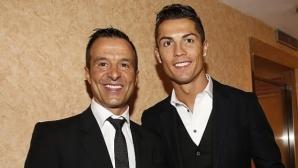 Мендеш: Роналдо беше най-добрият в Реал и Манчестър, в Юве ще бъде същото