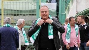 Грудев: Доволен съм от селекцията на Берое