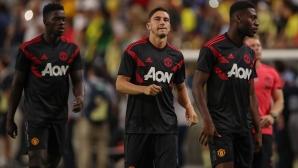 Манчестър Юнайтед стартира контролите с реми срещу мексиканци