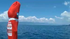 Човекът амфибия се готви за рекорд на Охридското езеро