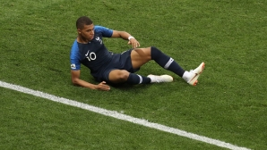 Мбапе играл на финала на Световното с травма