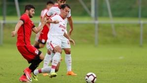 Попов със 70 минути за Спартак (Москва)