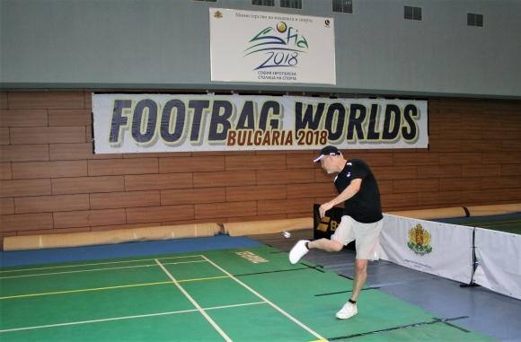 Успешен старт за България на световното по футбег в София