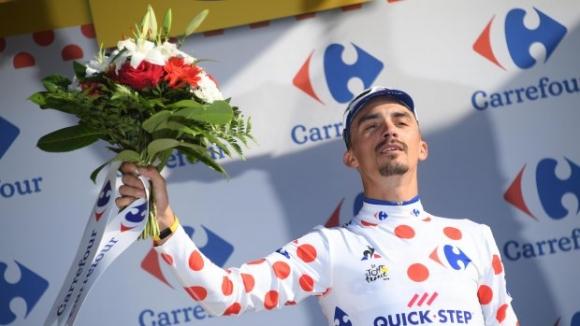 """Жулиен Алафилип постигна втора етапна победа в """"Тур дьо Франс"""""""