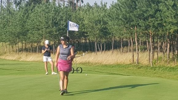 Ивана Симеонова започва участието си на Европейското по голф