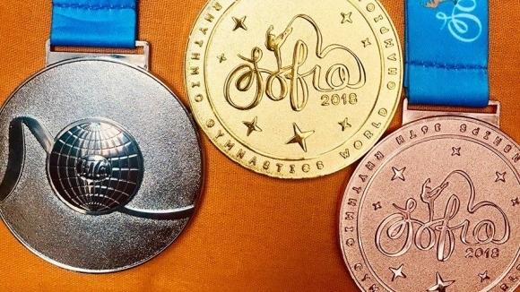 Показаха медалите за Световното по художествена гимнастика