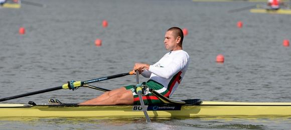 Европейският шампион Борис Йотов на финал на скиф на СП в Познан