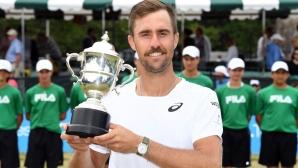 Джонсън триумфира на турнира в Нюпорт