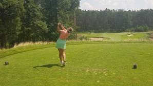 Трудно начало за Ивана Симеонова на Европейското по голф
