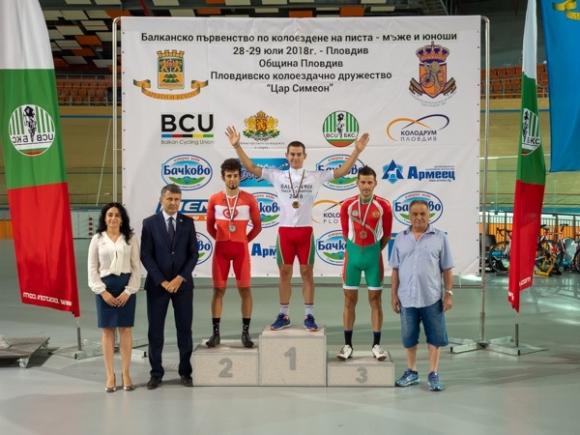 България с нови 3 шампионски титли на Балканиадата на писта в Пловдив