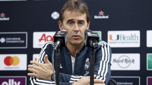 Реал не планира звезден трансфер, намекна Лопетеги