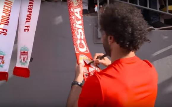 Салах подписа шал на ЦСКА в САЩ