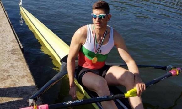 Кристиан Василев ще гребе на полуфинал на Евро 2018 в Глазгоу