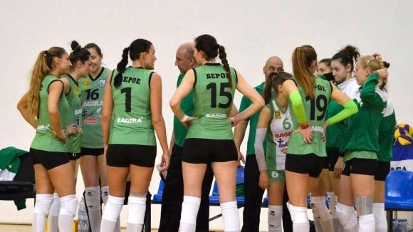 Волейболният женски отбор на Берое привлече състезателки от Черна гора и Хърватия