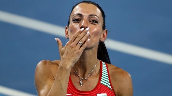 Ивет ще бяга само 200 метра на Европейското