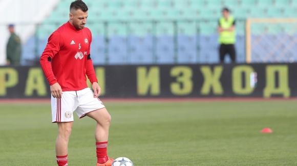 ЦСКА-София очаква отговор от УЕФА за Бодуров