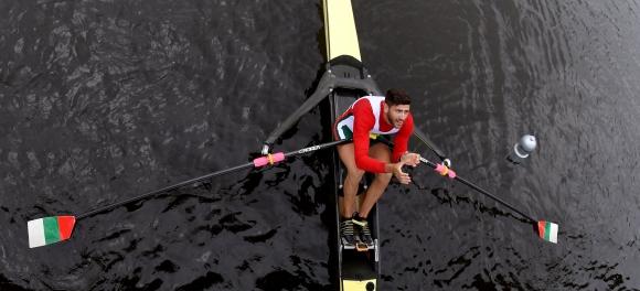 Кристиан Василев не можа да се класира на финал на скиф на Евро 2018