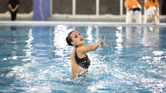 Александра Атанасова отпадна в квалификацията на Европейското първенство в синхронното плуване