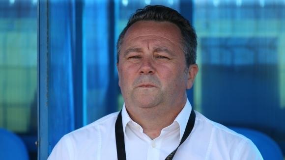 Славиша Стоянович: Много труден мач беше, трябват нови играчи