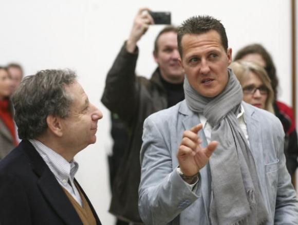 Оставете Шумахер на мира, призовава Жан Тод