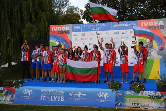 Първи медал за България на Световното по рафтинг