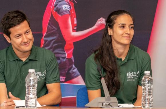 Йовкова и Коджабашев поканиха феновете на тениса на маса в Панагюрище (видео)