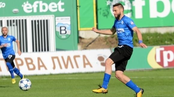 Ради Василев: Не играх, но се извинявам на феновете на Черно море