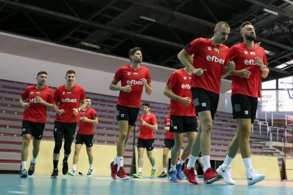 Българският национален отбор по волейбол ще играе контролни срещи с Белгия