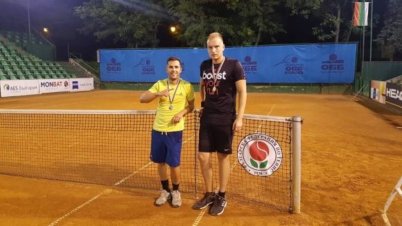 Йордан Младенов е новият шампион при начинаещите в Интерактив тенис