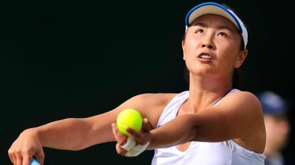 Китайската тенисистка Шуай Пън беше наказана за 6 месеца
