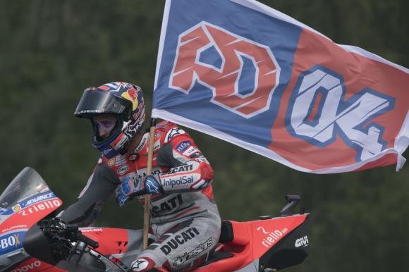 Довициозо най-бърз в първата тренировка от MotoGP в Австрия