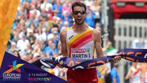 Титли за Испания при мъжете и жените на 20 км спортно ходене