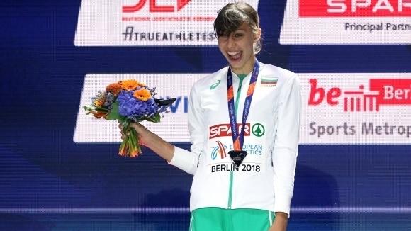 Мирела пред Sportal.bg: Скачах за всички, които обичат високия скок, и ми се получи (видео)