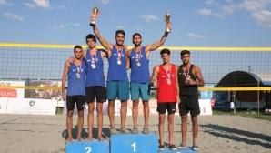 Димитров и Механджийски спечелиха сребро на Балканиадата в Косово!