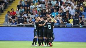Динамо (Загреб) протяга ръце към плейофите на ШЛ (видео)