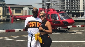 Футболист на Ювентус полетя над Ню Йорк