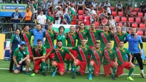 България загуби от Босна на Европейското по минифутбол