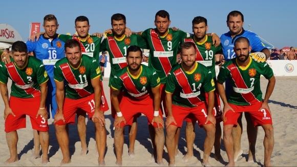 България игра силно, но загуби първата контрола с Румъния