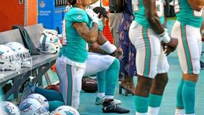 Полицията на нож с Маями, отказва охрана заради протест по време на химна