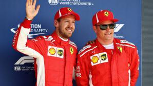 Райконен вероятно ще преподпише с Ферари до края на 2020
