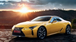 Lexus представя новото ослепително купе LC Yellow Edition