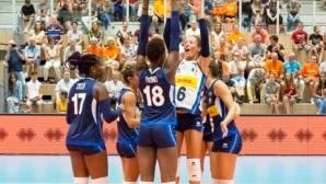 15 волейболистки на Италия продължават подготовка за Световното