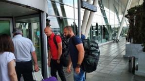 ЦСКА-София и Лудогорец се засякоха на летището