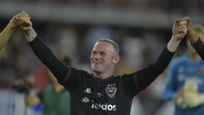 Рууни вкара два гола за победа на Ди Си Юнайтед